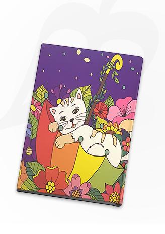 مذكرة القطة الحالمة