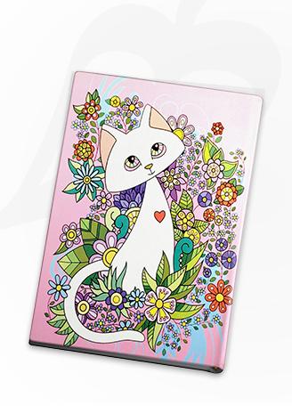 مذكرة القطة المحبة